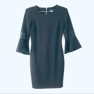 Tommy Hilfiger LBD size 6 bell sleeves
